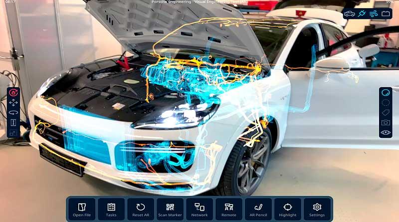 Porsche usa software de videojuegos para desarrollar el auto del futuro