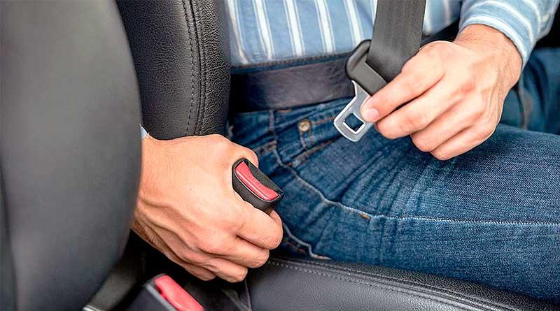 La AMT intensifica controles de uso del cinturón de seguridad