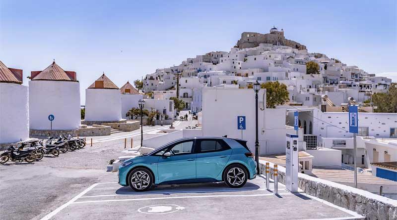 Astypalea empieza a transformarse en una isla electrificada con VW