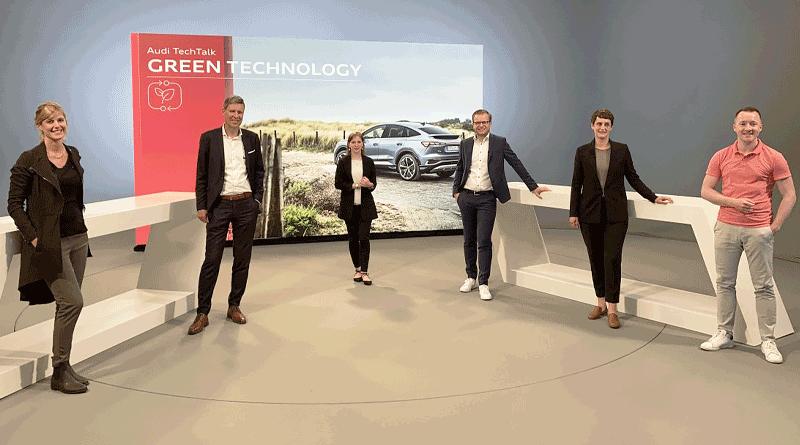 Tecnología verde: Proyectos ambientales en Audi ganan impulso