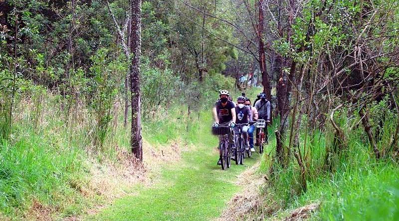 Nuevas ciclorutas en el parque Metropolitano del Sur
