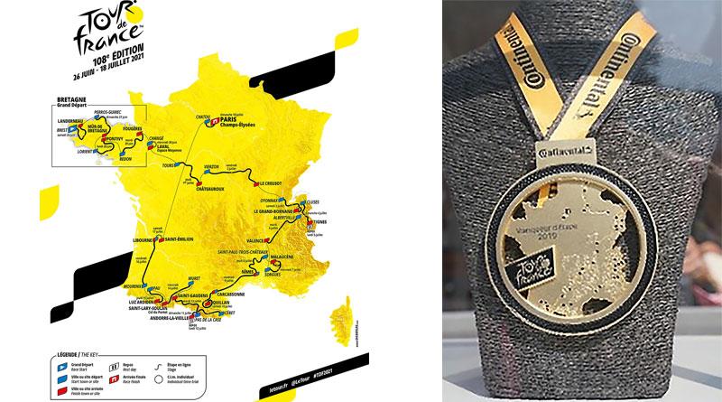 Continental es patrocinador principal del Tour de Francia 2021