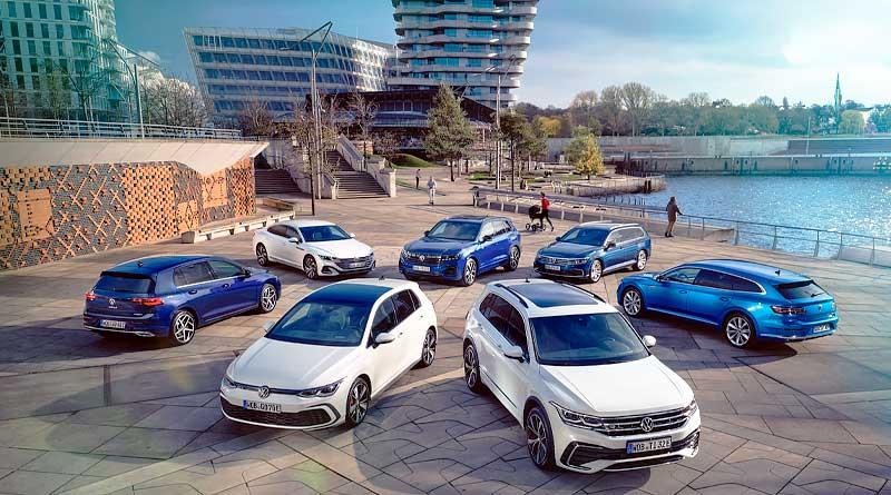 Volkswagen presenta gama completa de híbridos enchufables