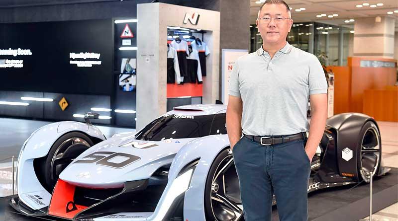 Premio para Euisun Chung, presidente de Hyundai Motor Group