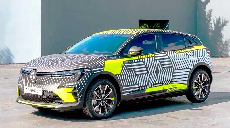 Imágenes de anticipo del nuevo Renault Mégane E-Tech Electric