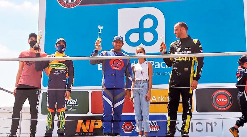 Henry Taleb toma ventaja en el provincial de karting del Guayas