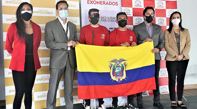 Casabaca homenajeó a Darwin Castro, que irá a los Paralímpicos en Tokio