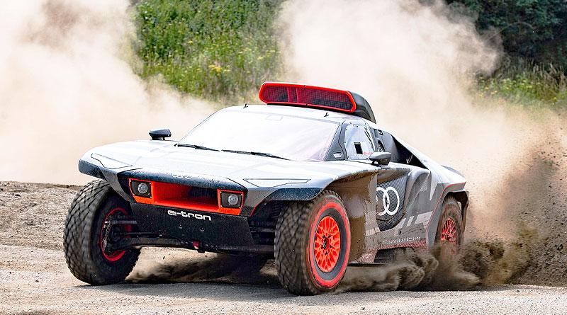 Fue presentado el Audi RS Q e-tron para el Rally Dakar 2022