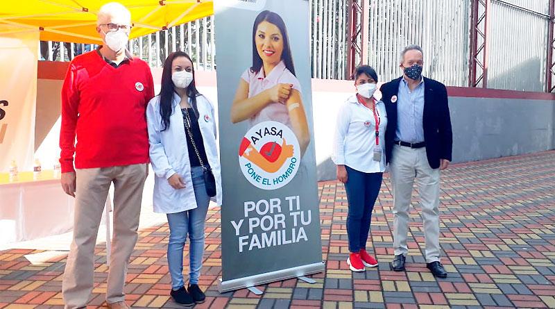 AYASA y AEADE en Plan de Vacunación 9/100 del Gobierno Nacional