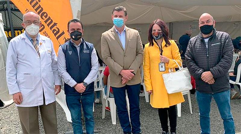 Continental Tire Andina apoyó al plan de vacunación en Cuenca