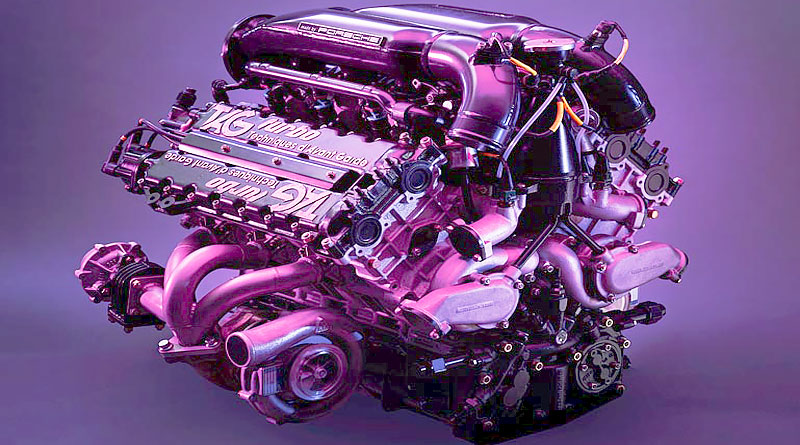 El motor TAG Turbo de Fórmula 1 que desarrolló Porsche