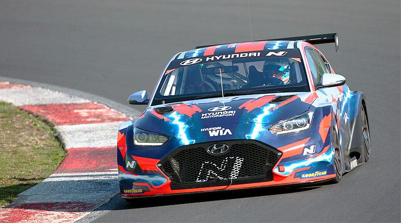 HTWO del Grupo Hyundai impulsa carreras de turismos eléctricos