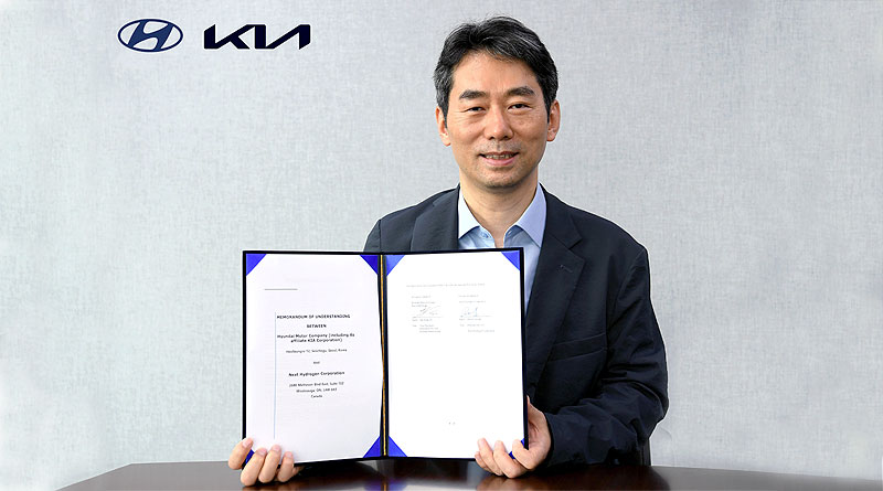 Hyundai Motor y Kia Corporation colaboran con Next Hydrogen