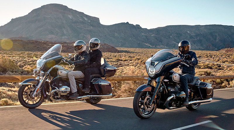 Nuevas motocicletas BMW 'R 18 Transcontinental' y 'R 18 B'