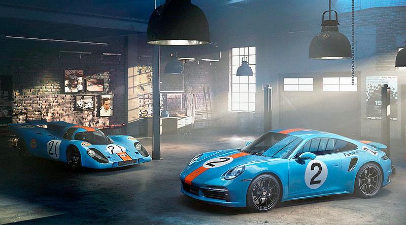 Porsche 911 Turbo S en honor al piloto mexicano Pedro Rodríguez