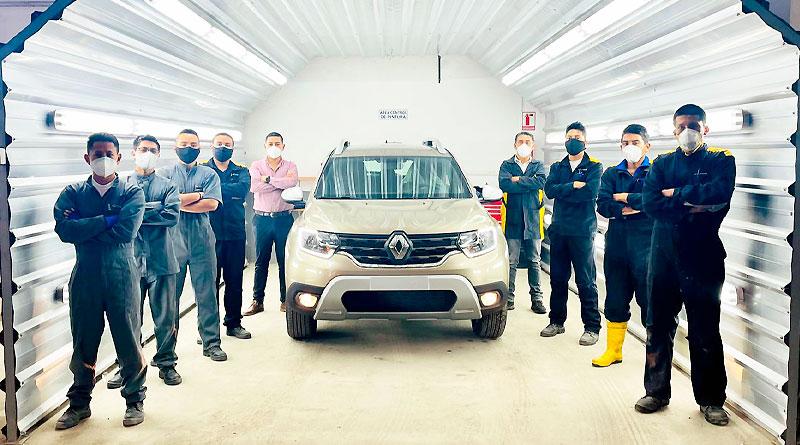 En 3 años Renault procesa su auto 10.000 en el PDI de Tulcán