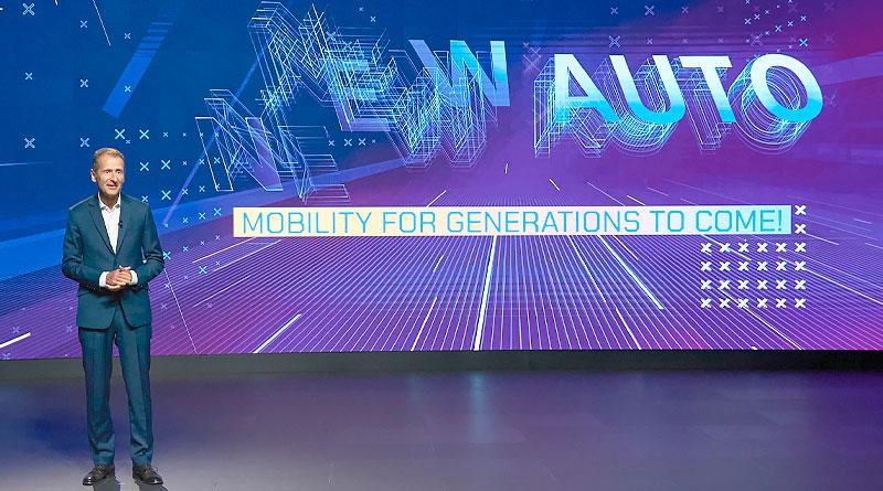 Estrategia 'New Auto' de Volkswagen para ser proveedor de movilidad