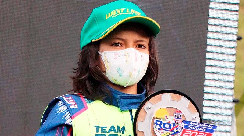 Benjamín Gavilánez, 3er lugar en Panamericano de Karting