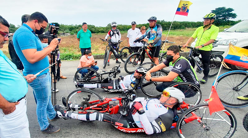 Apoyo empresarial al deporte inclusivo en Ecuador con 'Bicibilizando'