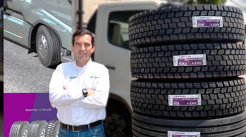 En Ecuador nueva línea de neumáticos Laufenn mixtos para volquetas