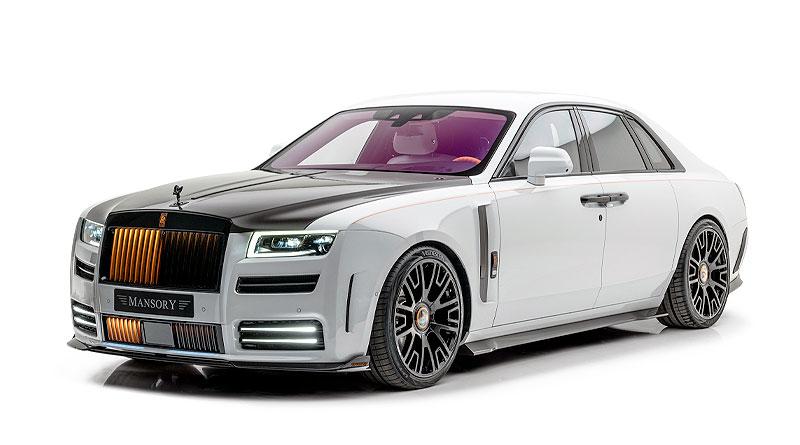 Conversión completa de Mansory de un Rolls-Royce Ghost V12