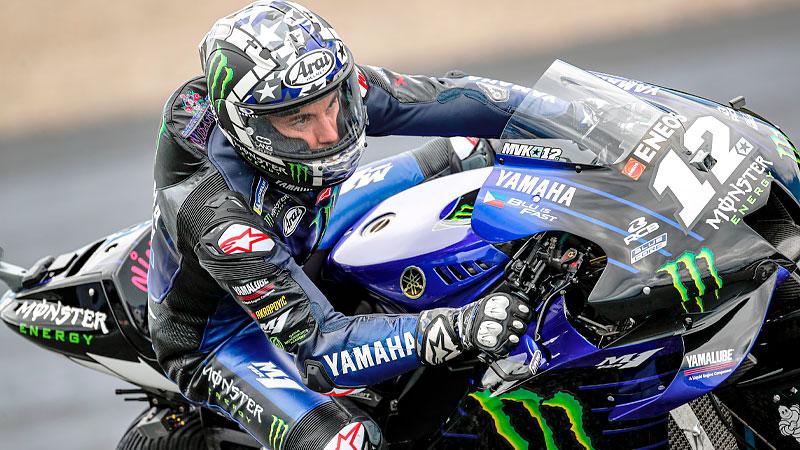 Yamaha suspende a Maverick Viñales por 'extraño' manejo de su moto