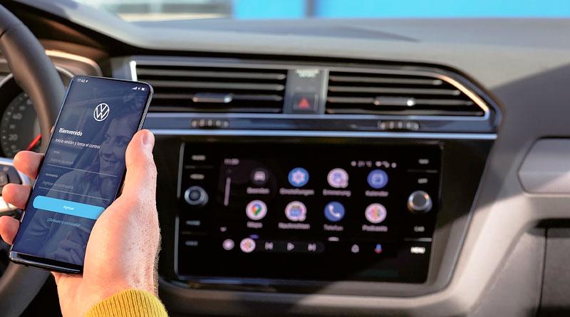App de Volkswagen conecta a clientes con sus autos en tiempo real