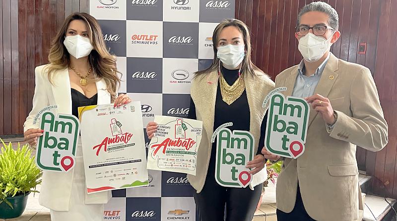 ASSA impulsa reactivación económica y turística en Ambato