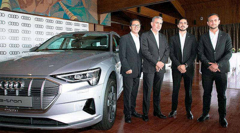 Lanzamiento del eléctrico Audi e-tron, SUV y Sportback, en Ecuador