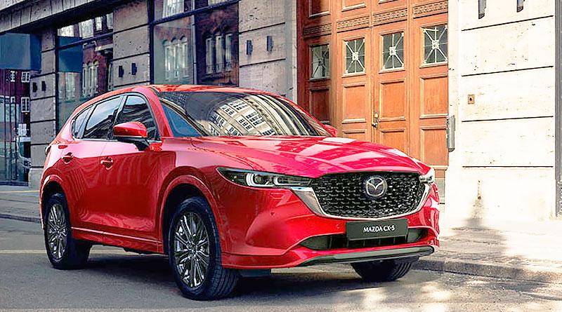 El nuevo Mazda CX-5 2022 con mayor refinamiento y versiones