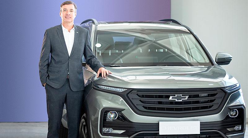 Marcus Oliveira, Gerente Comercial Senior de Chevrolet Ecuador