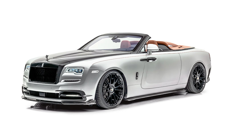 Nuevo 'Softkit' de MANSORY en el Rolls-Royce Dawn 'Silver Bullet'