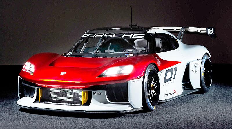 El Mission R es el prototipo futurista de Porsche para clientes