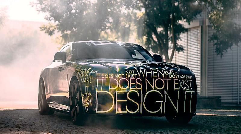 'Spectre', el primer auto totalmente eléctrico de Rolls-Royce