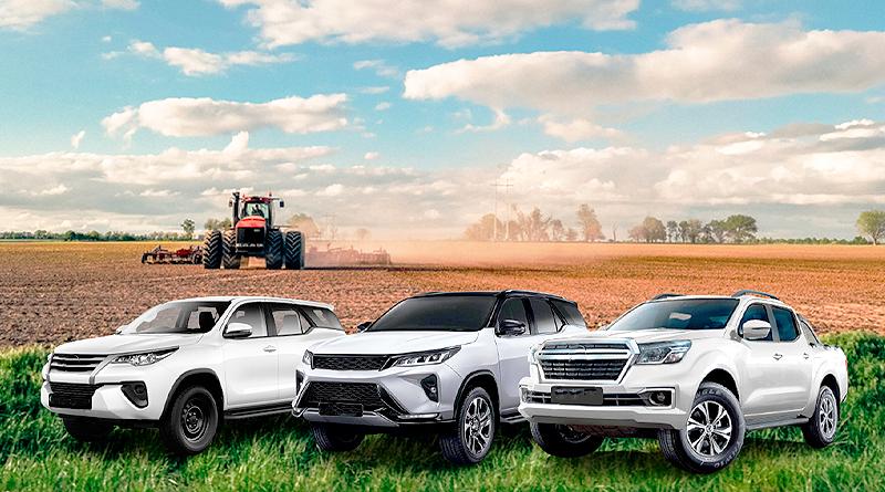 Alquiler corporativo de vehículos en la agroindustria nacional