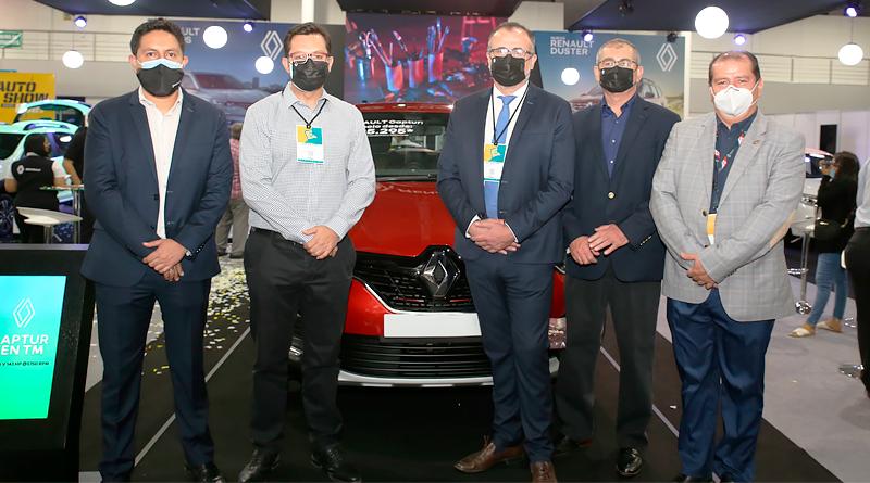En el Autoshow 2021 de Guayaquil, Renault Ecuador hizo presencia