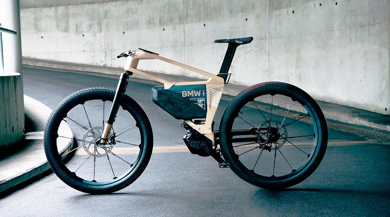 BMW i Vision AMBY, bicicleta con pedaleo asistido, de alta velocidad