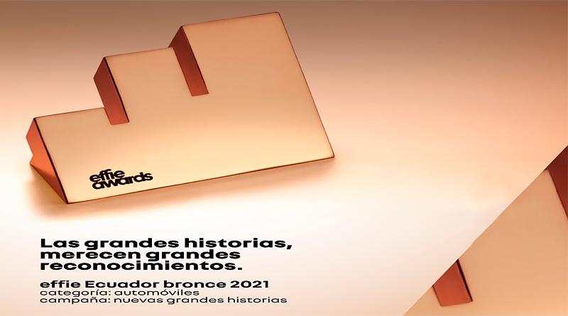 """'Effie Ecuador' de Bronce para las """"Nuevas Grandes Historias"""""""