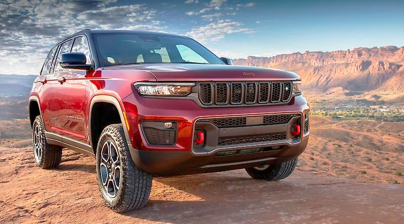 Los totalmente nuevos Jeep® Grand Cherokee 2022