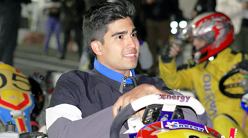 Juan Manuel Correa y su coincidencia con el 'Karting Adaptado'