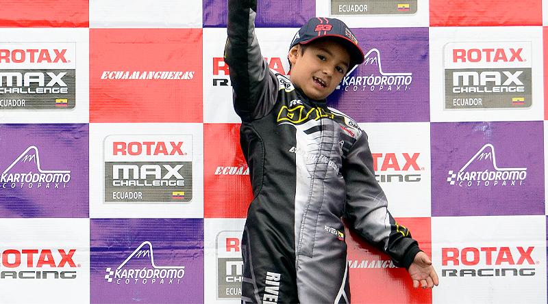 Julián Rivera viaja a Sudamericano de Karting Rotax Max Challenge 2021