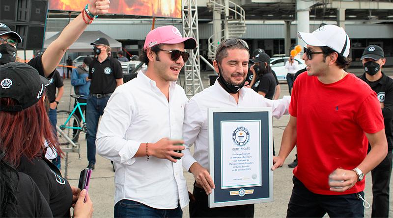 Mercedes-Benz en Ecuador logra un Récord Guinness