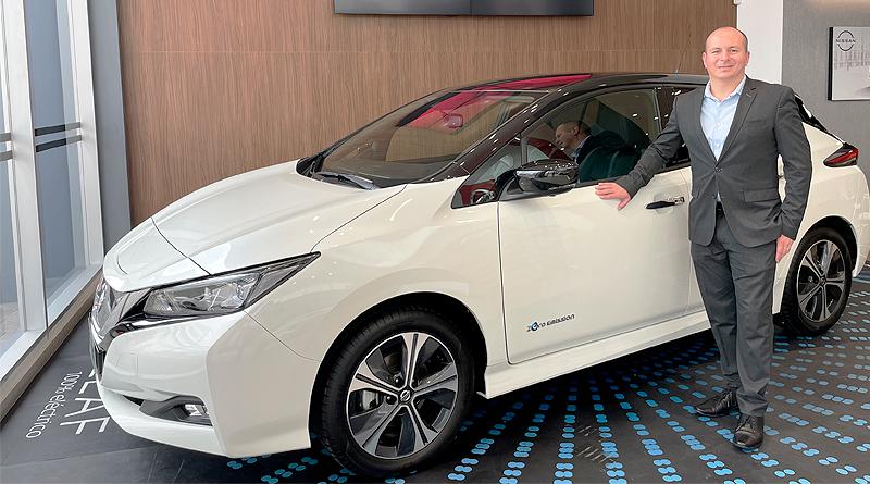 Jornada de Electromovilidad en la ESPOL con Nissan Leaf