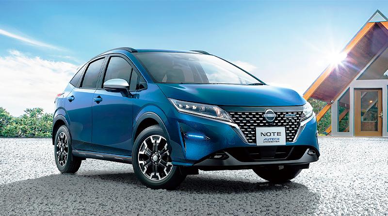 Nissan lanza el Note Autech Crossover compacto en Japón