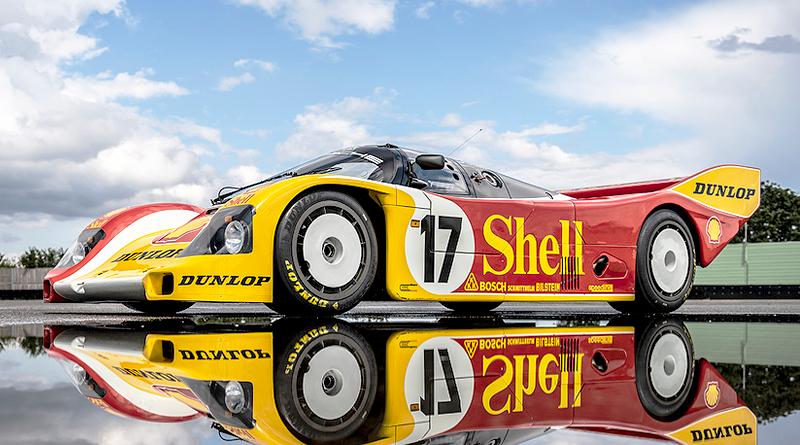 Legendario Porsche 962 C de 1987 fue restaurado íntegramente