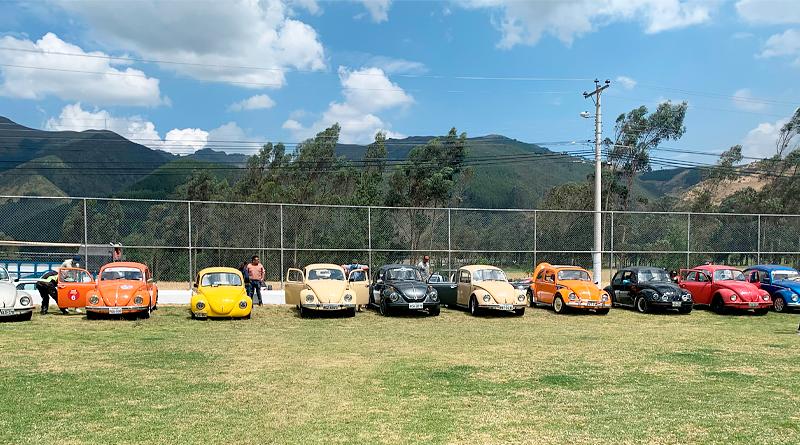 Volkswagen apoyó el 1er Rally de Autos Clásicos en Ibarra